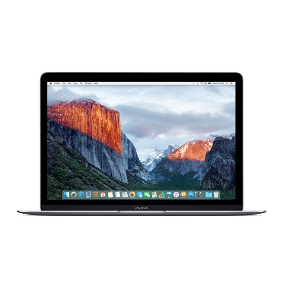 Macbook Retina 12 inch Early 2016