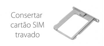 Consertar cartão SIM travado de iPad o iPhone