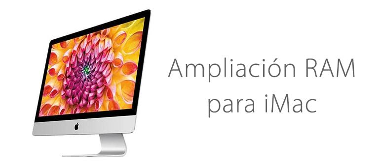 Ampliar la memoria RAM de iMac en iFixRapid