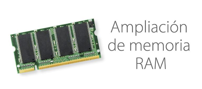 Ampliar memoria RAM de Mac en Servicio Técnico