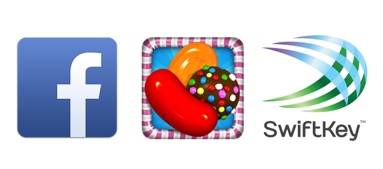 Facebook, Candy Crush y Swiftkey líderes en App Store