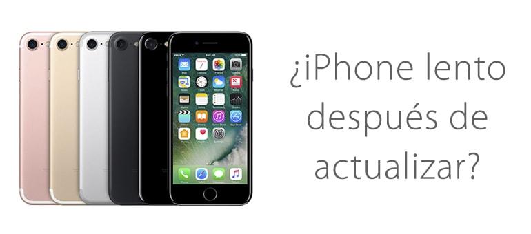 Apple ha admitido que los iPhone son más lentos después de actualizar iOS