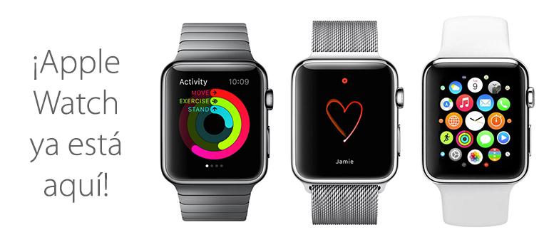 Hoy es el día de lanzamiento de Apple Watch