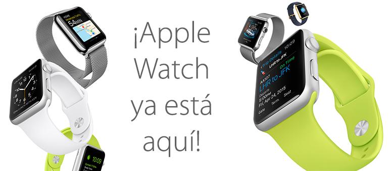 ¡Ya está disponible Apple Watch en España!