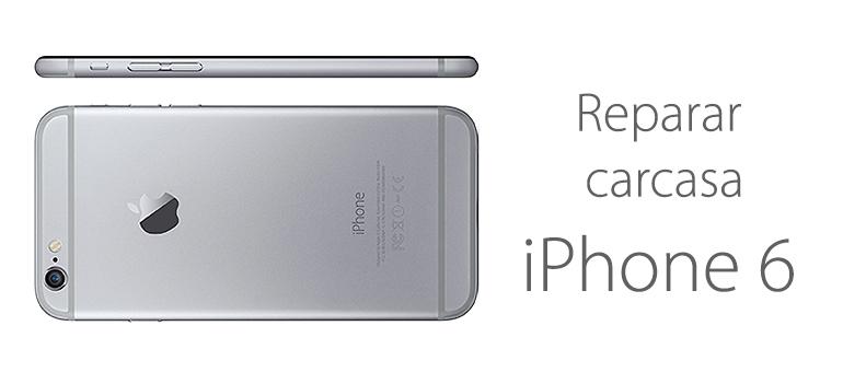 Arregla la carcasa rota de tu iPhone 6