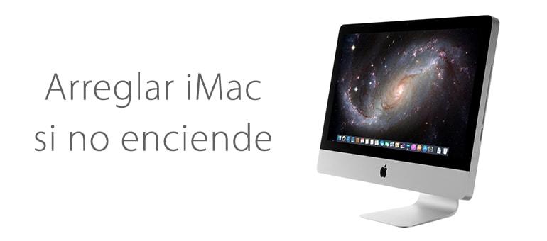 Servicio Técnico para reparar iMac que no enciende