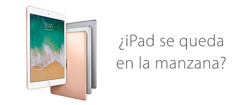 Arreglar iPad si se queda en la manzana y se reinicia
