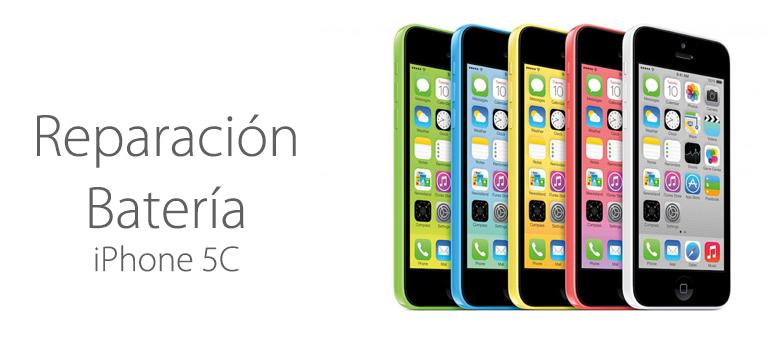 Cambiar la batería de iPhone 5C, en iFixrapid es posible