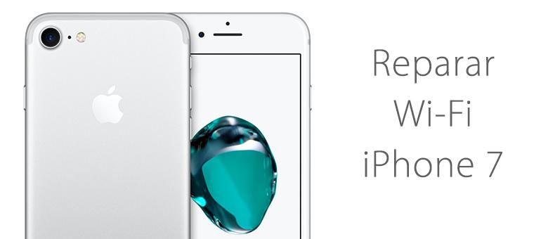 Arreglar iPhone 7 si no se conecta al Wi-Fi o no encuentra redes