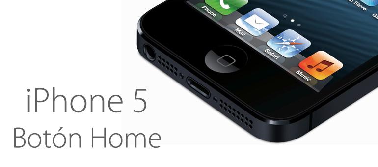 Arregla el Botón Home de tu iPhone 5, iPhone 5C y iPhone 5S