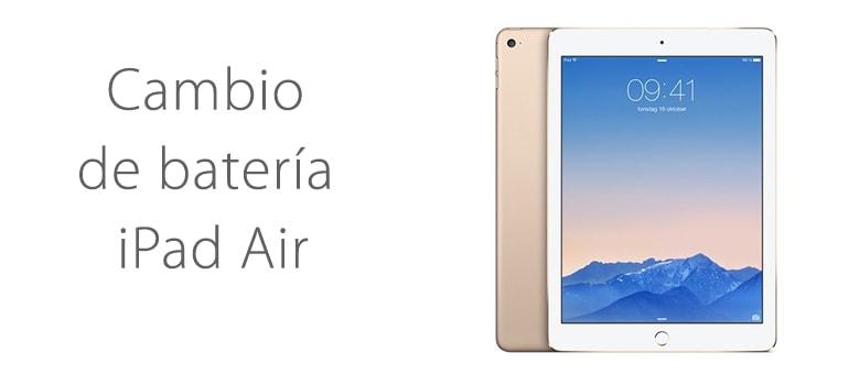 Reparar iPad Air si la batería no carga correctamente