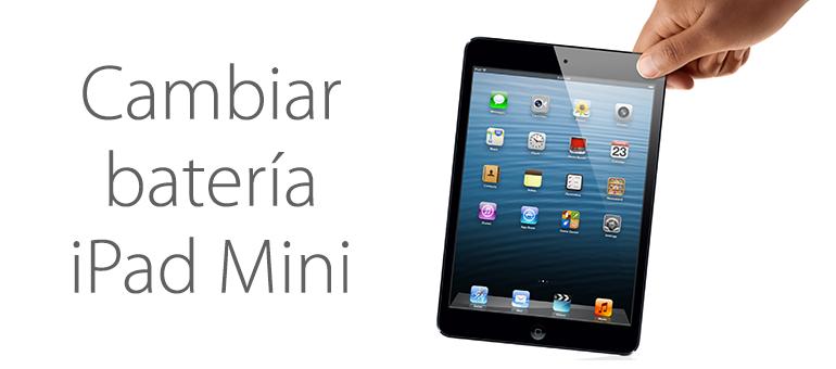 Cambiar la batería de iPad Mini si no carga correctamente