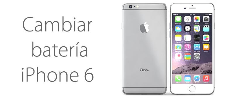Si iPhone 6 no carga, puede que la batería esté estropeada