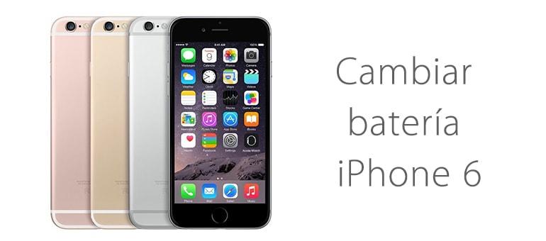 Cambiar la batería de iPhone 6s si dura poco
