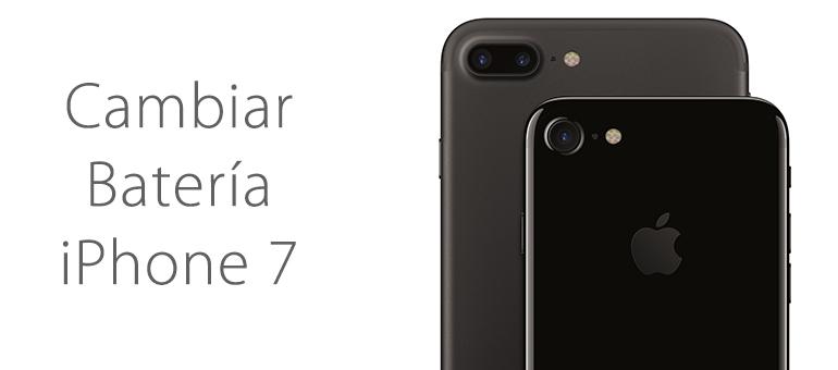 Ya puedes cambiar la batería de tu iPhone 7 y iPhone 7 Plus