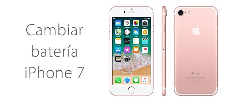 Cambiar batería de iPhone 7 en Madrid