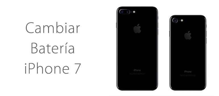 Cambiar batería de iPhone 7 si no carga
