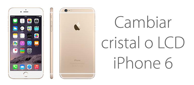 Reparar el LCD o cristal de tu iPhone 6 con iFixRapid
