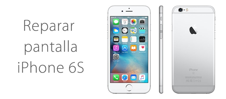 Cambiar el cristal roto de iPhone 6s en Madrid