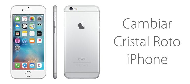 Arreglar el cristal roto de iPhone 6 en iFixRapid