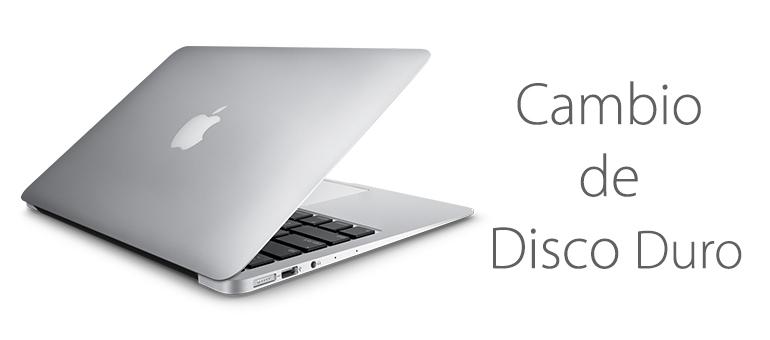 Cambio de disco duro por SSD de Macbook en Madrid