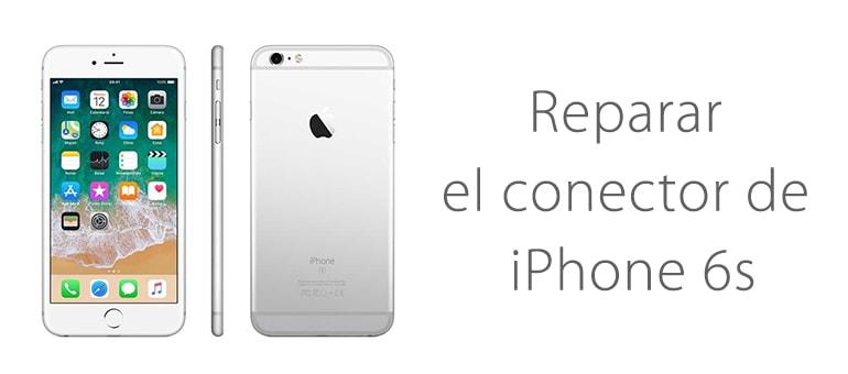 Cambiar el conector lightning de iPhone 6s si no carga