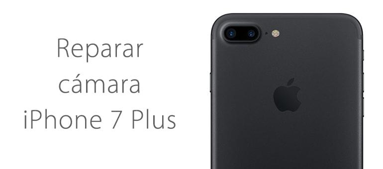 Cambiar el cristal de la cámara de iPhone 7 Plus