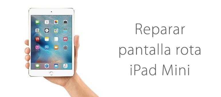 Cambiar el cristal roto de tu iPad Mini con iFixRapid