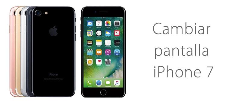 Cambiar pantalla de iPhone 7 rota con iFixRapid