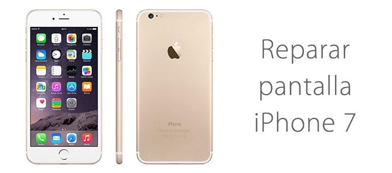 Cambiar la pantalla rota de iPhone 7 en iFixRapid