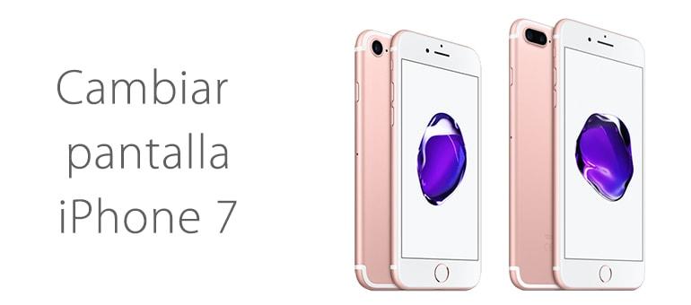 Cambiar pantalla rota de iPhone 7 en iFixRapid