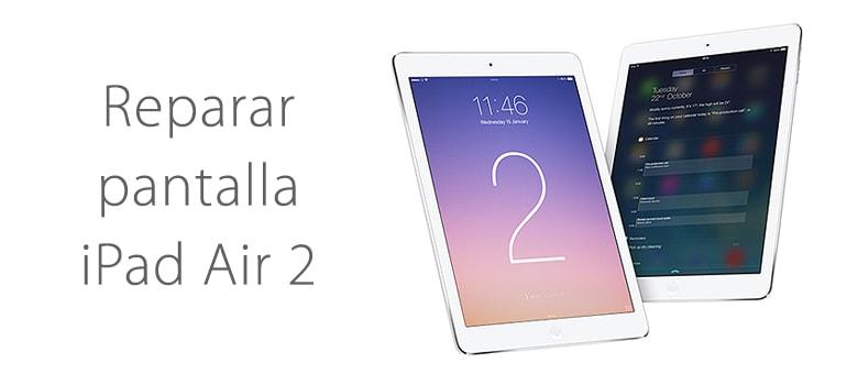 Cambiar el cristal roto de iPad Air 2 en iFIxRapid