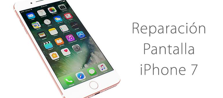 Cambio de pantalla rota de iPhone 7 en iFixRapid