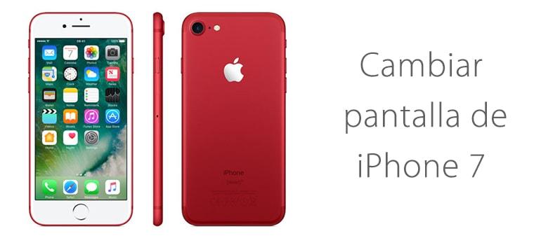Cambiar pantalla rota de iPhone 7 en Madrid