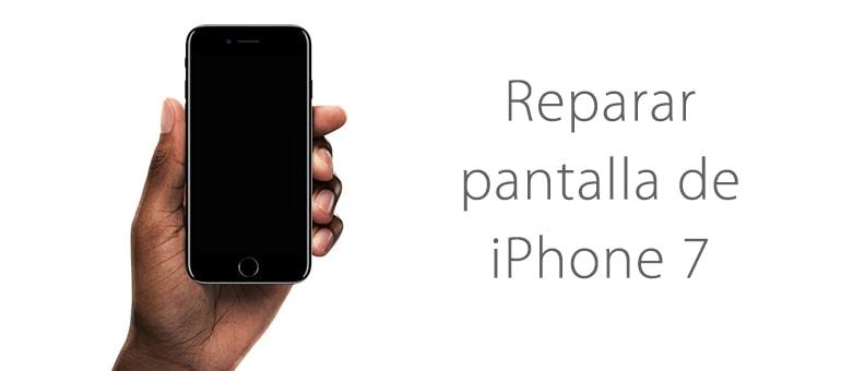 Cambiar el cristal de la pantalla rota de iPhone 7 en iFixRapid