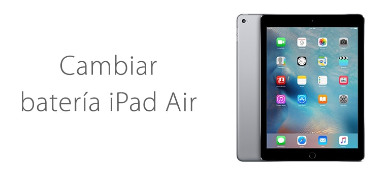 Cambio de batería para iPad Air si no carga