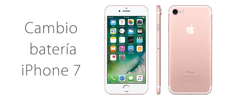 Reparar iPhone 7 si no carga la batería