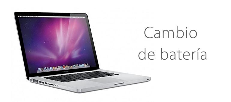 Cambiar batería de Macbook sin cita previa