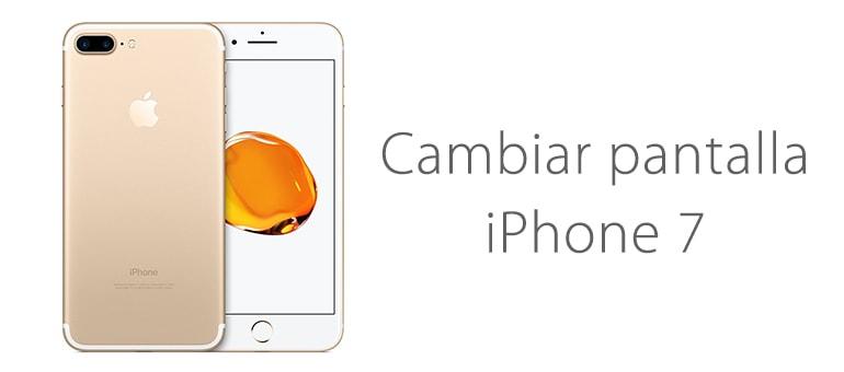 Cambio de pantalla de iPhone 7 sin pedir cita previa