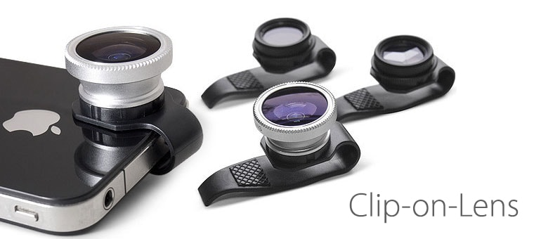 Clip-on Lens, nueva lente adaptable a iPhone, iPad y iPod Touch