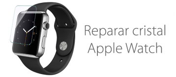 reparar el cristal roto de apple watch