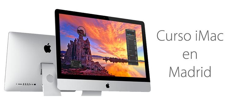 Curso para aprender a usar iMac en Madrid