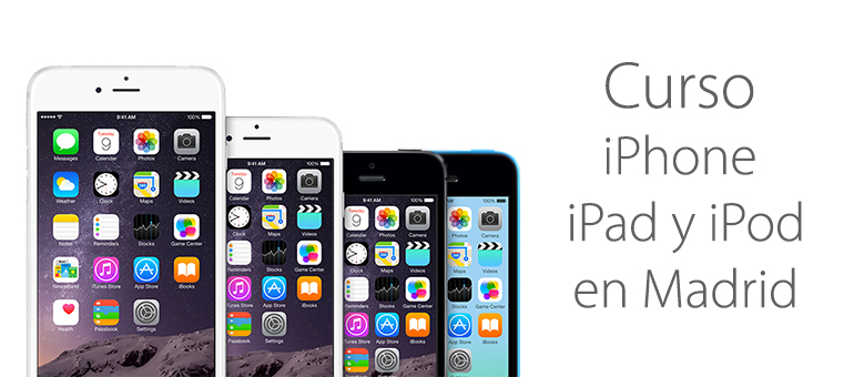 Cursos para iPhone, iPad y iPod en Madrid