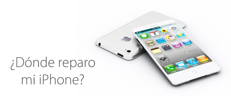 ¿Dónde reparar mi iPhone?