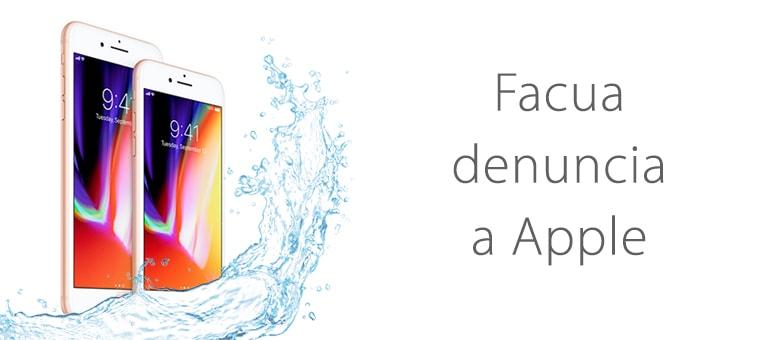 Denuncia a Apple por publicidad engañosa en iPhone 8