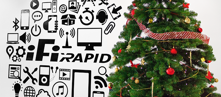 Servicio Técnico iFixRapid os desea Felices Fiestas