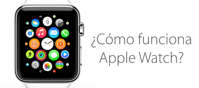 Así funciona Apple Watch