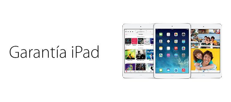 iFixRapid cubre la garantía de tu iPad