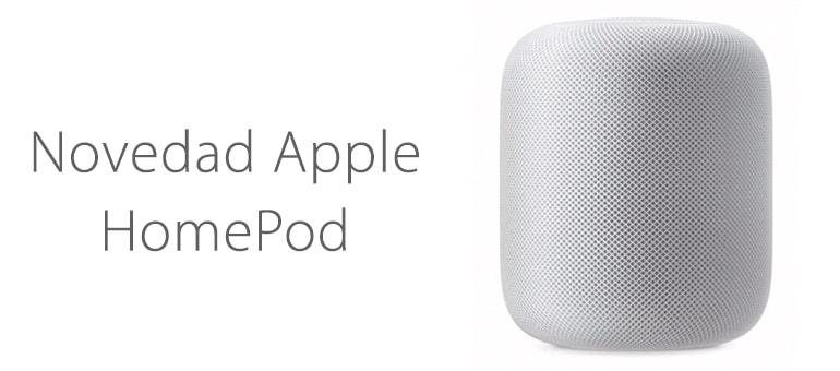 HomePod el nuevo altavoz presentado por Apple