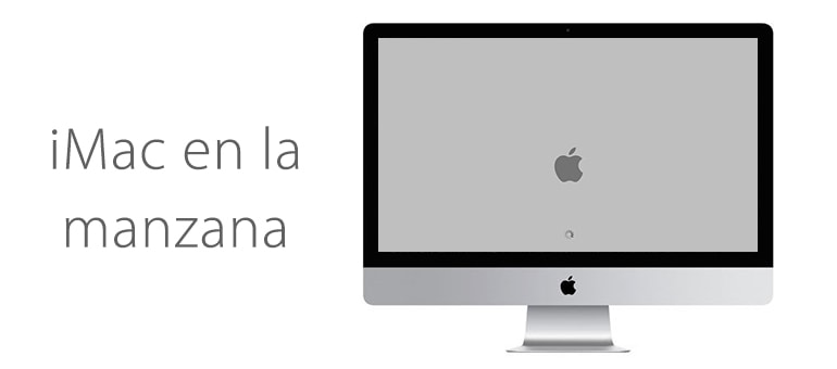 iMac no pasa de la manzana y no arranca